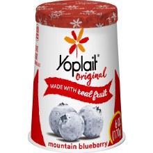 Yogurt - Yoplait Mountain Blueberry 6 oz