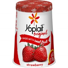 Yogurt - Yoplait Strawberry 6 oz