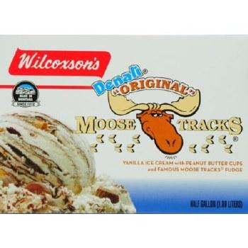 Ice Cream - Wilcoxson's Moose Tracks 1/2 Gal