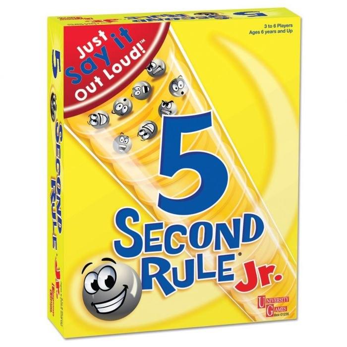 5 SECOND RULE GAME JUNIOR
