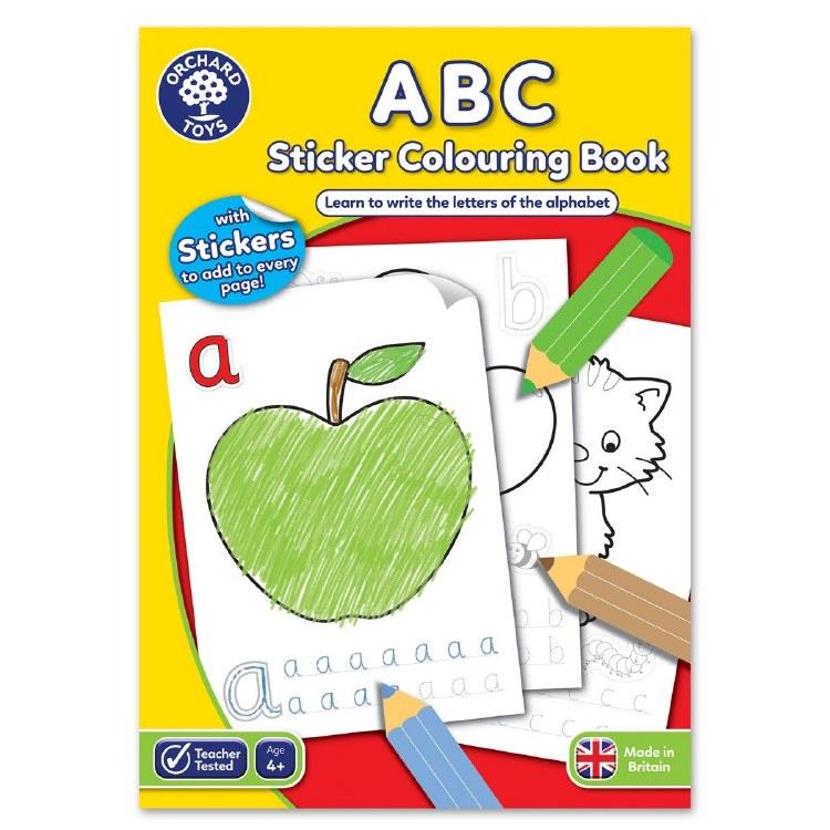 ABC STICKER COL BOOK