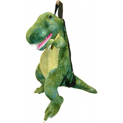 BACK PACK T REX DINOSAUR GREEN
