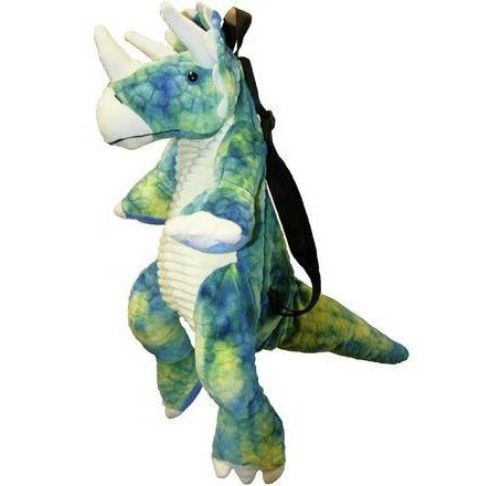 BACK PACK TRICERATOPS