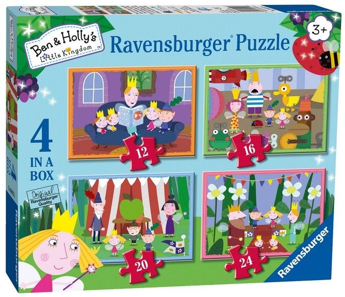 BEN AND HOLLY 4 IN A BOX
