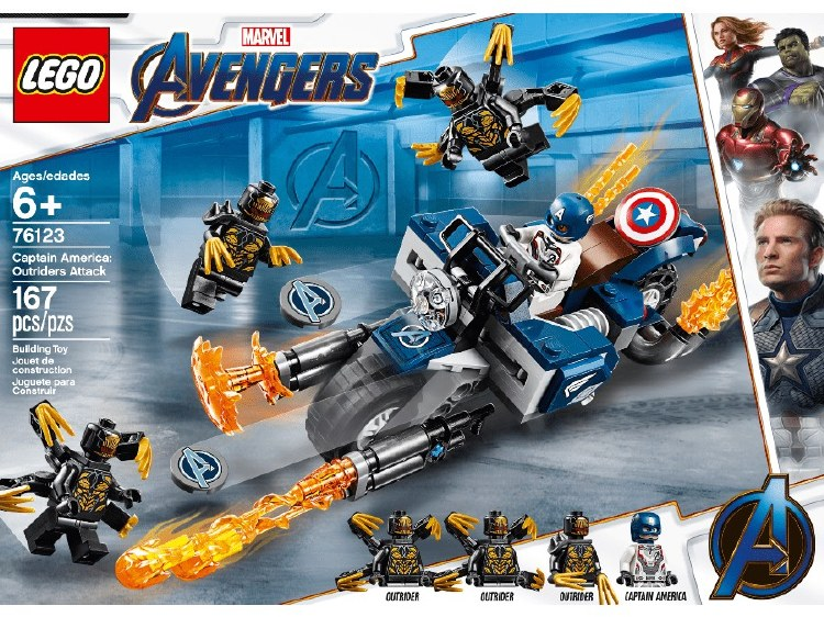 CAPTAIN AMERICA OUTRIDERS