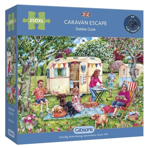 CARAVAN ESCAPE 250  XL PIECES