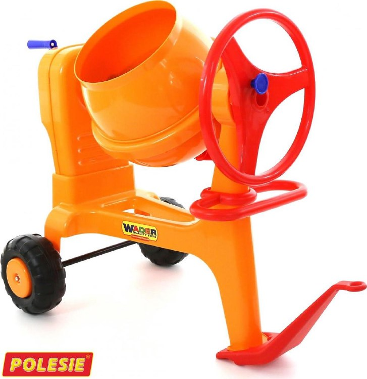 CEMENT MIXER WITH HITCH