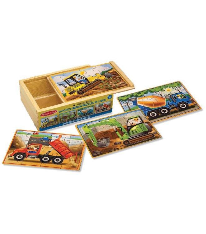 CONSTRUCTION PUZZLE 4 IN A BOX