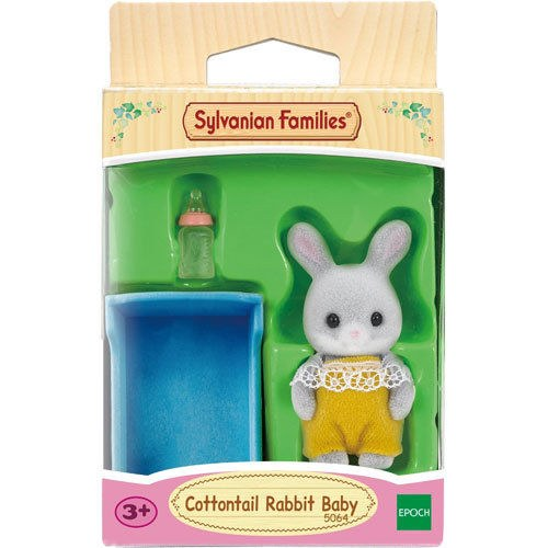COTTONTAIL RABBIT BABY