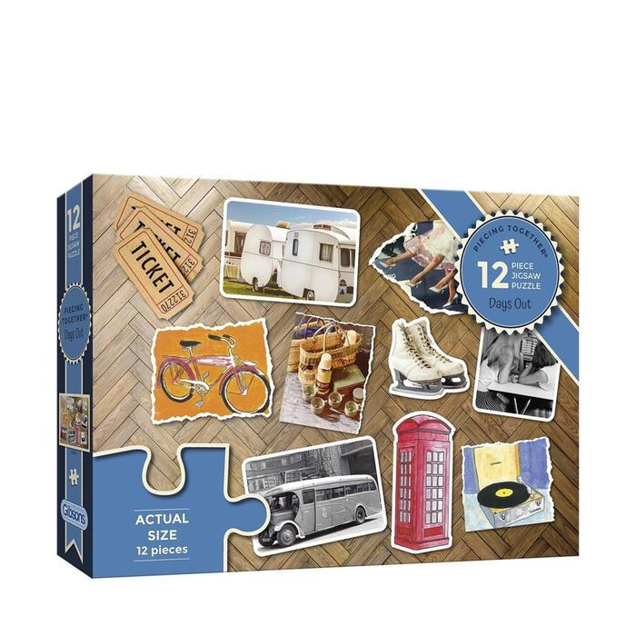 DAYS OUT 12PC PUZZLE