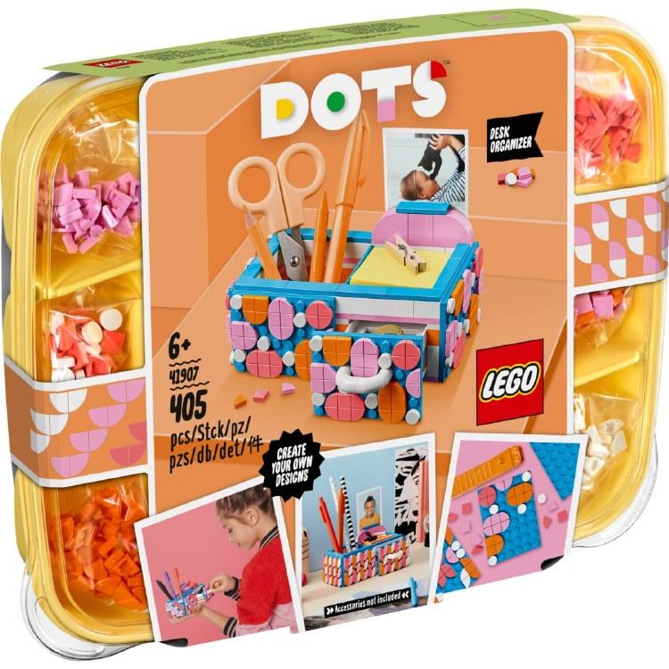 DESK ORGANISER LEGO DOTS