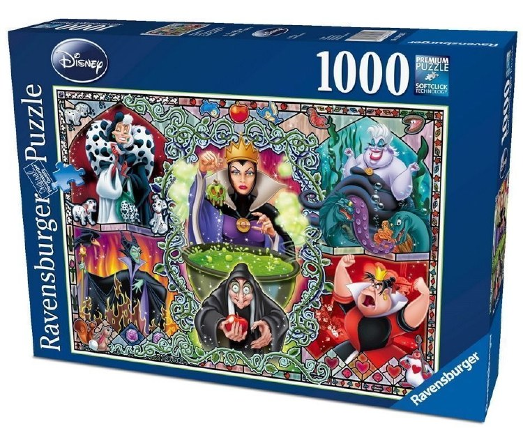 DISNEY WICKED WOMEN 1000PC