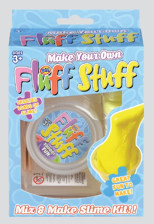 DIY FLUFF STUFF SLIME KIT