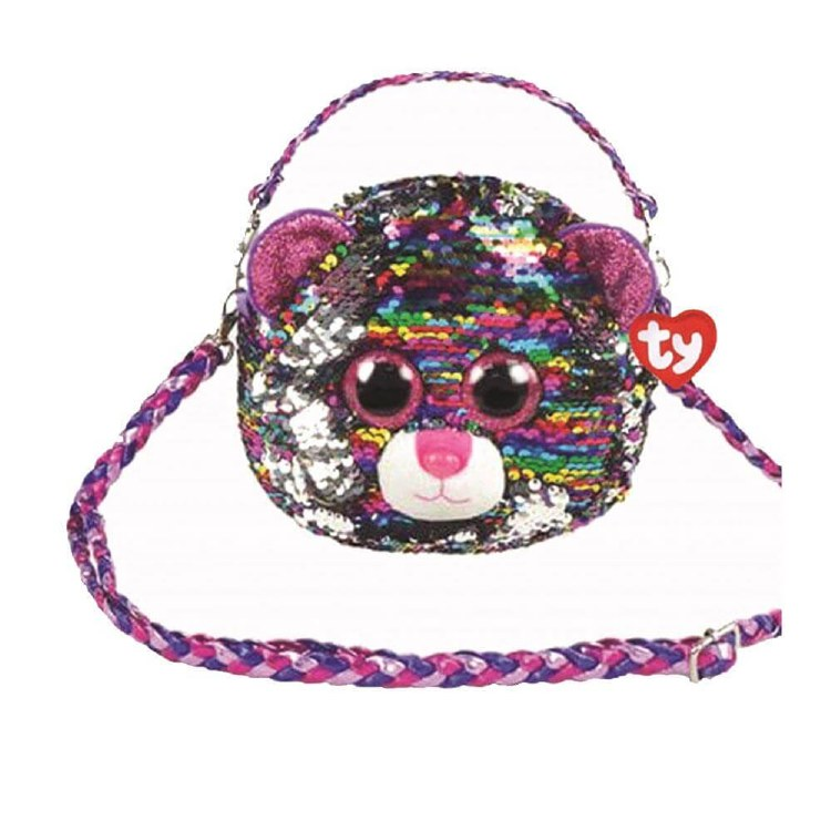 DOTTY BEAR SEQUIN SHOULDER BAG