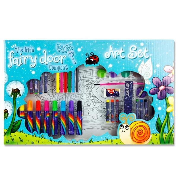 FAIRY DOOR ART SET