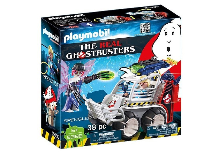 GHOSTBUSTERS SPENGLER WITH CAG