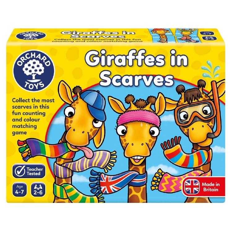 GIRAFFES IN SCARVES