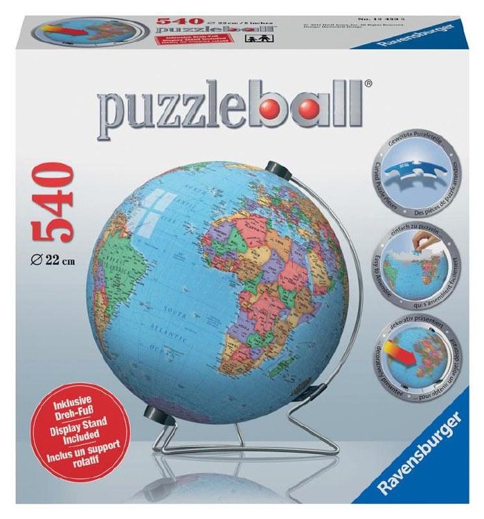 GLOBE ED PUZZLE BALL