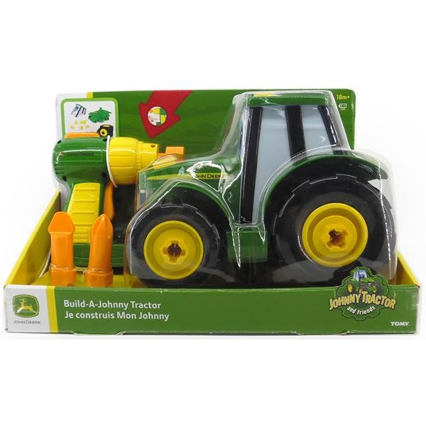 JOHN DEERE BUILD A TRAC JOHNNY