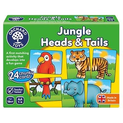 JUNGLE HEADS & TAILS
