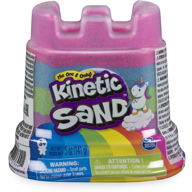 KINETIC SAND MINI CASTLE RAINB