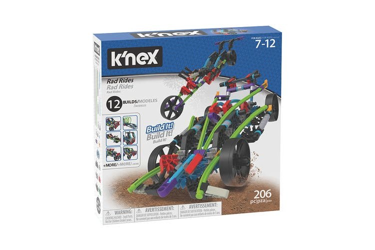 KNEX RAD RIDES 12IN 1 BUILDING