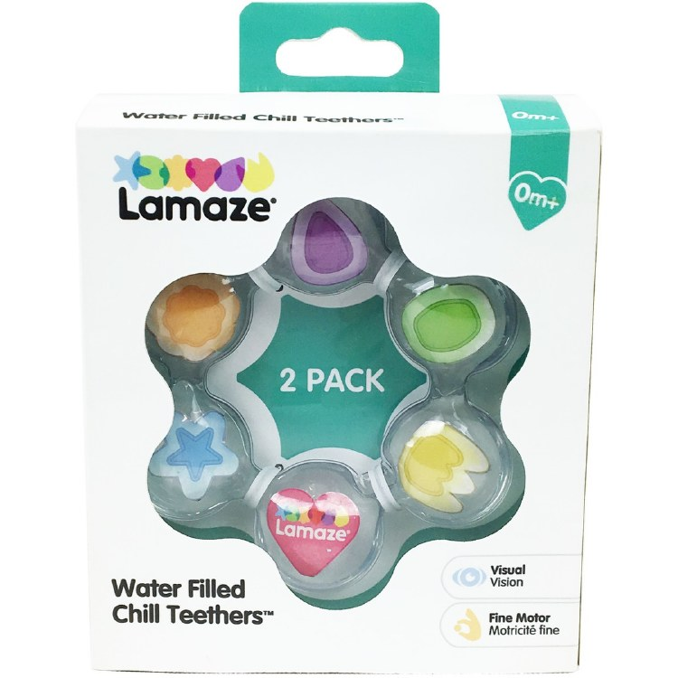LAMAZE WATER FILLED TEETHER