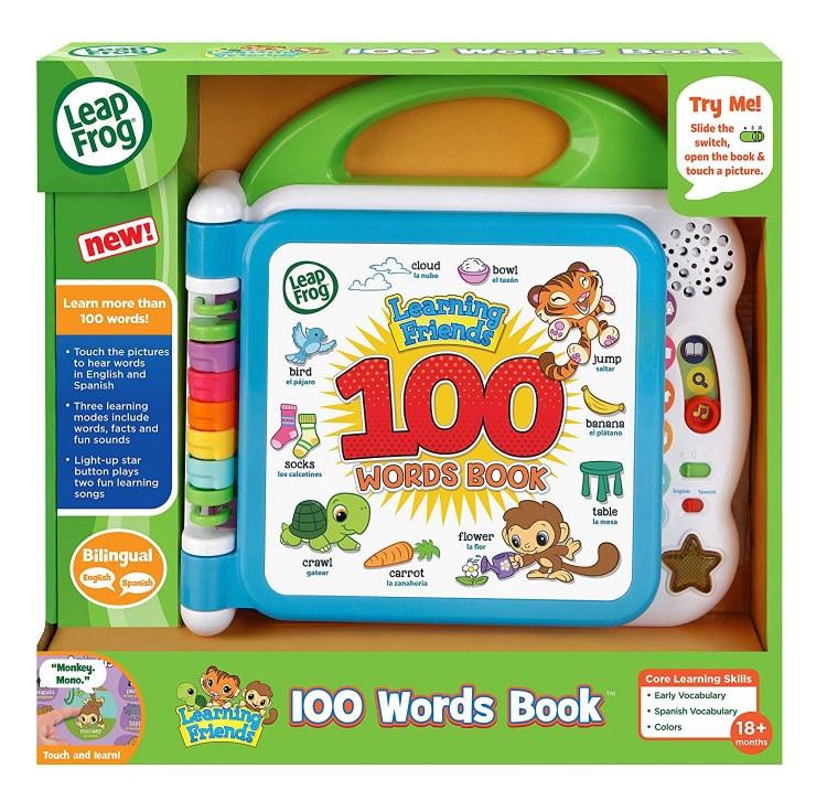 LEARNIN FRIENDS 100 WORDS BOOK