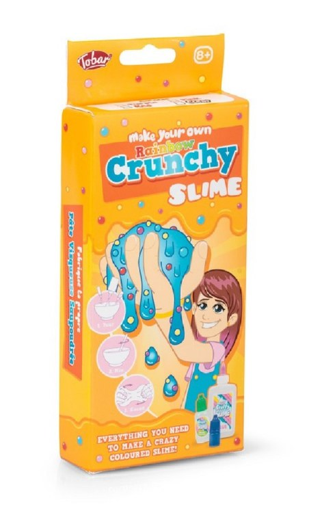 MAKE YOUR OWN CRUNCHY SLIME