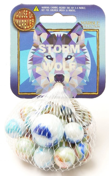 MARBLES STORM WOLF