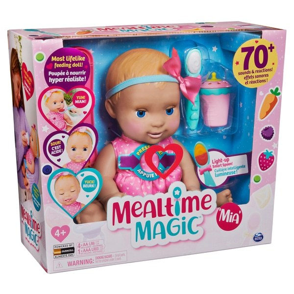 MEALTIME MAGIC MIA DOLL