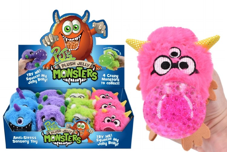 MONSTER JELLY SQUEEZER PLUSH