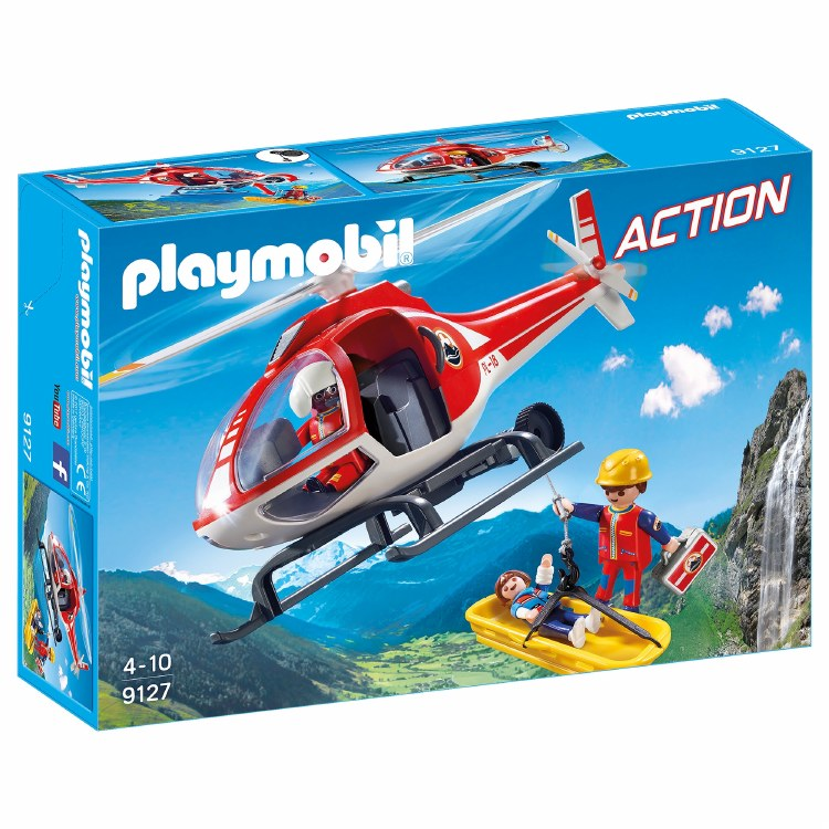 MOUNTAIN RESCUE HELICOPTER