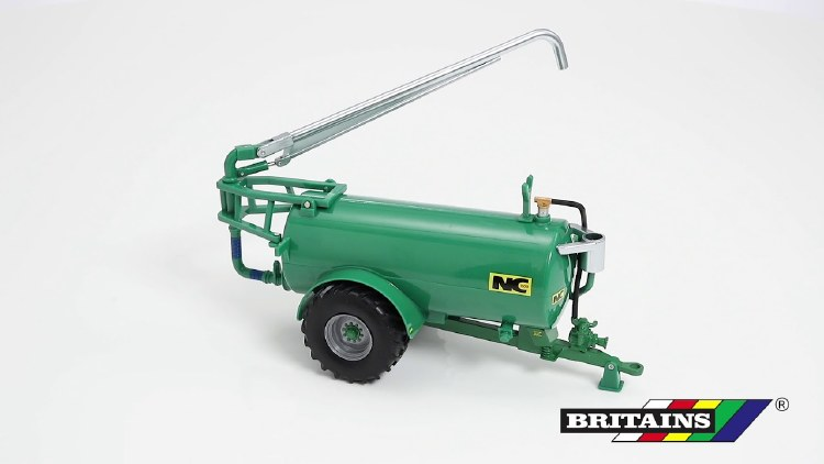 NC SLURRY TANKER GREEN