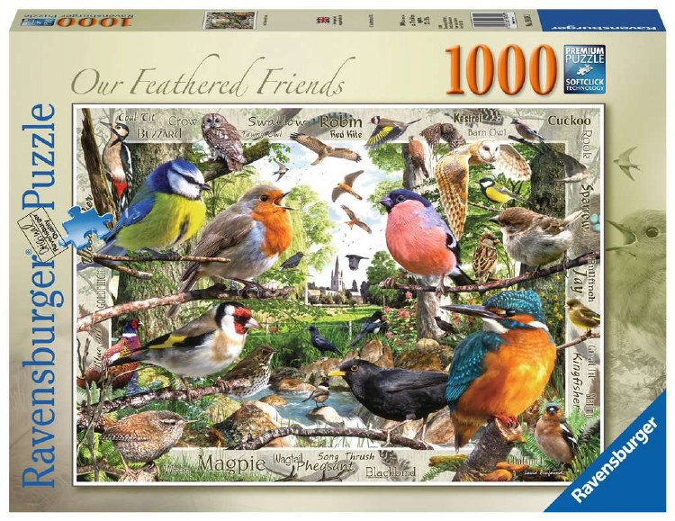 OUR FEATHERED FRIENDS 1000PC