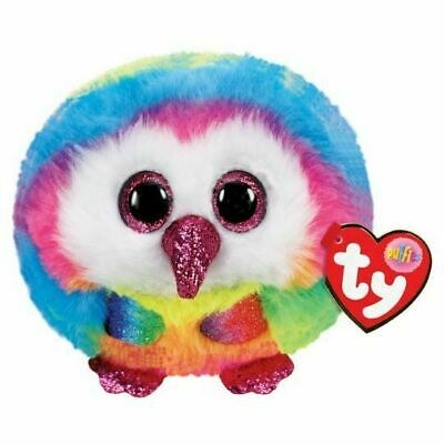 OWEN OWL TY PUFFIES