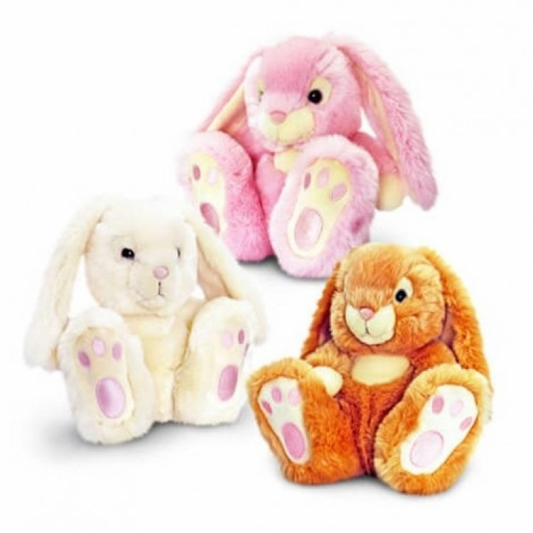 PATCH BARE FOOT RABBIT 25CM