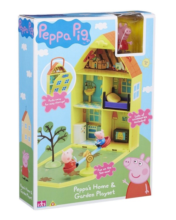 PEPPA HOME AND GARDEN PLAYSET
