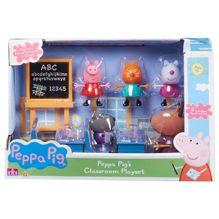 PEPPA PIG CLASS ROOM