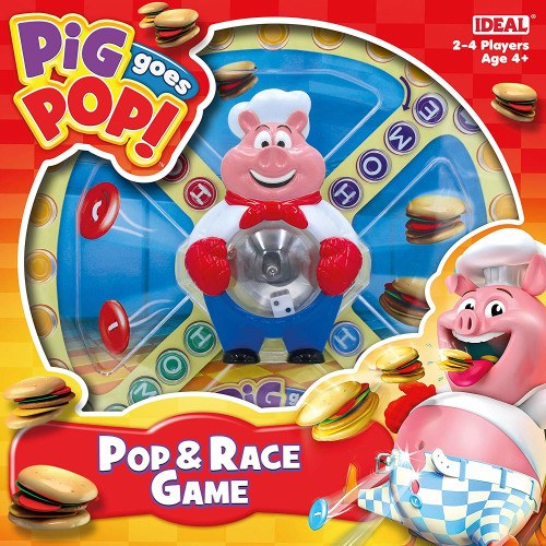 PIG GOES POP RACE GAME