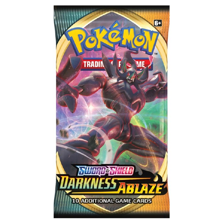 POKEMON DARKNESS ABLAZE BOOSTE