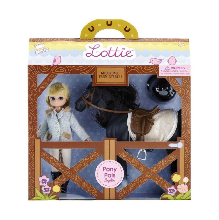 PONY CLUB LOTTIE DOLL& HORSE
