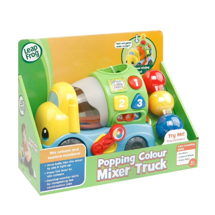 POPPING COLOUR MIXING TRUCK
