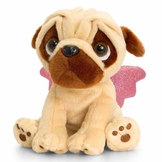 PUGSLIE WITH WINGS  20CM