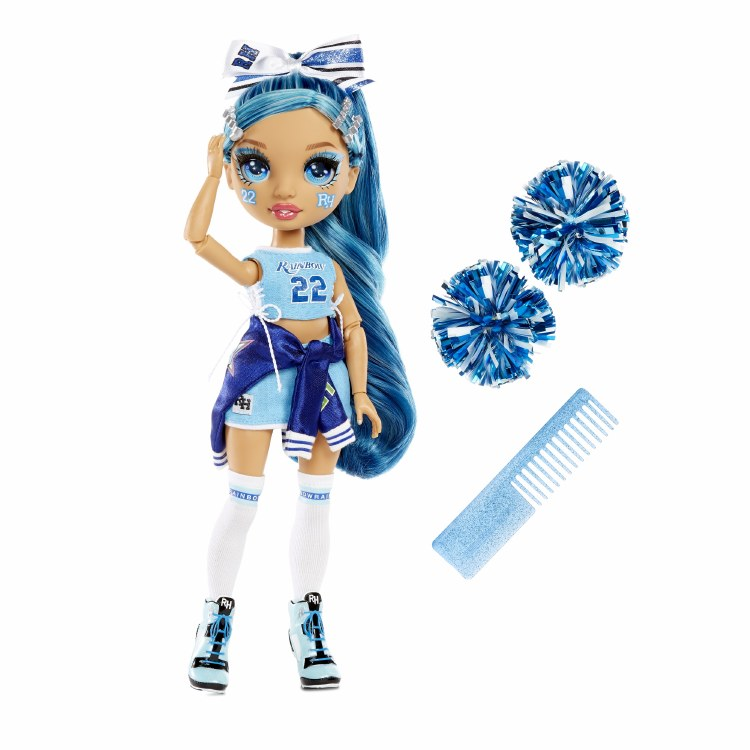 RAINBOW CHEER DOLL BLUE
