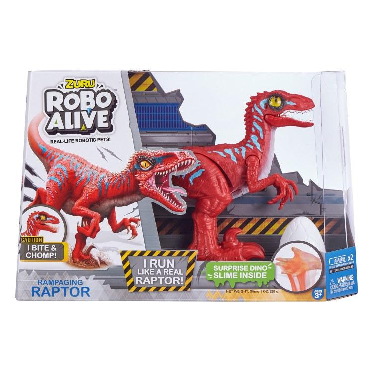 ROBO ALIVE RAPTOR RED
