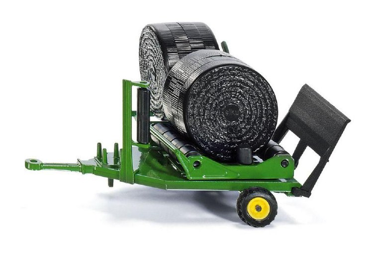 ROUND BALE WRAPPER AND BALES