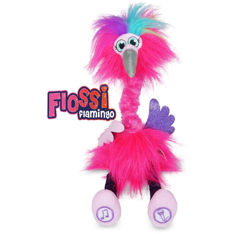 SASSIMALS FLOSSI FLAMINGO