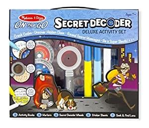 SECRET DECODER DELUXE ACTIVITY