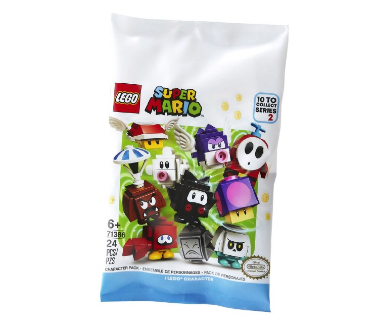 SUPER MARIO CHARACTER PACKS